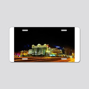 Las Vegas Lights Aluminum License Plate