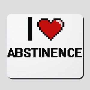 I Love Abstinence Digitial Design Mousepad