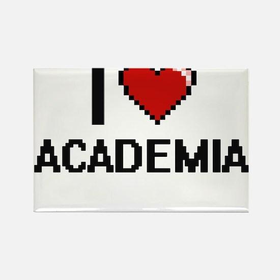 I Love Academia Digitial Design Magnets