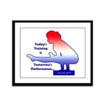 Gymnastics Framed Print - Training