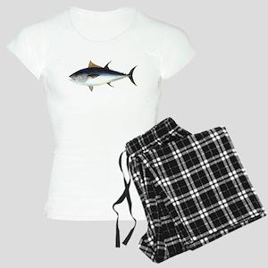 Bluefin Tuna illustration Women's Light Pajamas