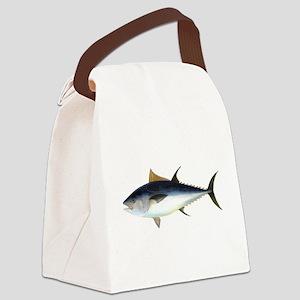 Bluefin Tuna illustration Canvas Lunch Bag
