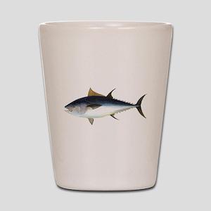 Bluefin Tuna illustration Shot Glass