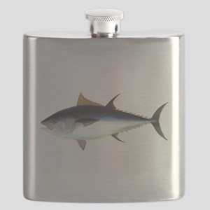 Bluefin Tuna illustration Flask