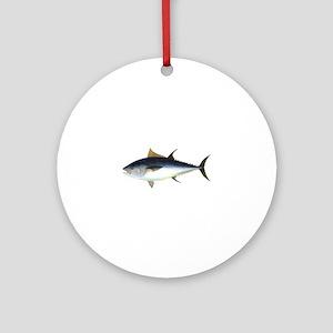 Bluefin Tuna illustration Ornament (Round)
