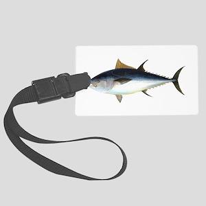 Bluefin Tuna illustration Large Luggage Tag