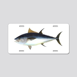 Bluefin Tuna illustration Aluminum License Plate