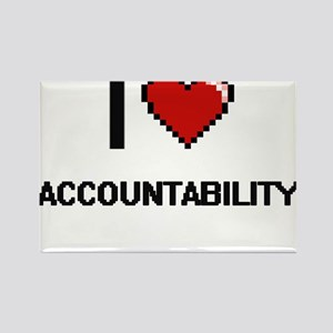 I Love Accountability Digitial Design Magnets