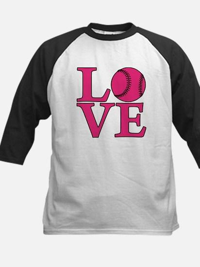 Softball LOVE Kids Baseball Jersey