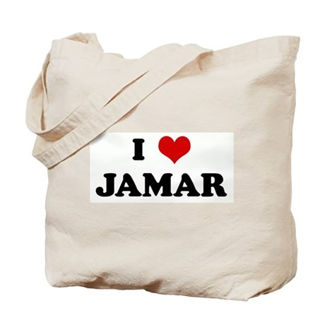 I Love JAMAR Tote Bag