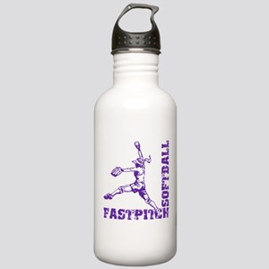 Fastpitch Corner Stainless Water Bottle 1.0L