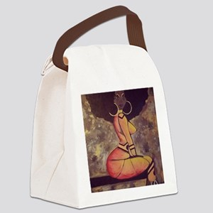 Super-hairo Canvas Lunch Bag