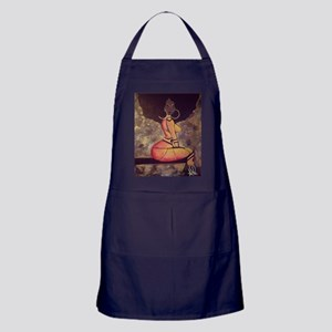 Super-hairo Apron (dark)
