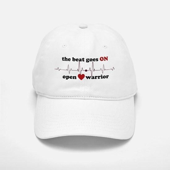 Open heart warrior Baseball Baseball Cap