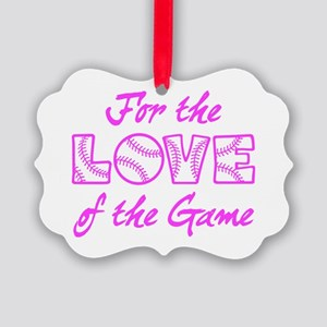For The Love Picture Ornament