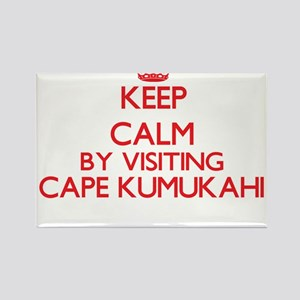 Keep calm by visiting Cape Kumukahi Hawaii Magnets