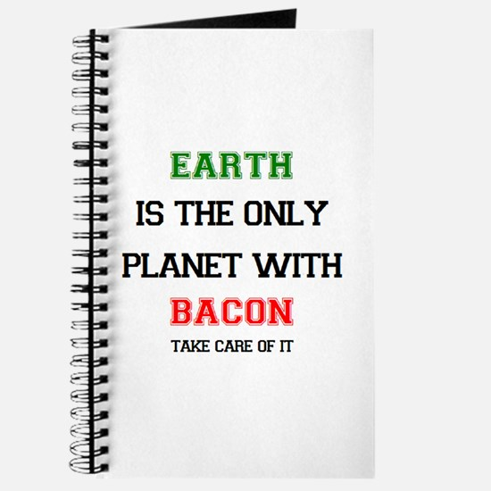 earth has bacon Journal