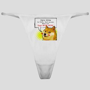 Doge Meme Dogecoin 01 Classic Thong