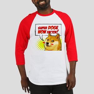 Doge Factor Dogecoin Baseball Jersey