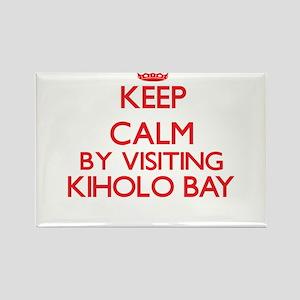 Keep calm by visiting Kiholo Bay Hawaii Magnets