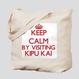 Keep calm by visiting Kipu Kai Hawaii Tote Bag