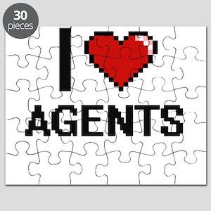 I Love Agents Digitial Design Puzzle