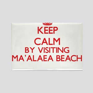 Keep calm by visiting Ma'Alaea Beach Hawai Magnets