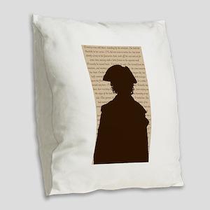 Poldark Burlap Throw Pillow