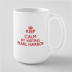 Keep calm by visiting Pearl Harbor Hawaii Mugs