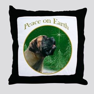 PeaceTemp Throw Pillow