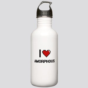 I Love Amorphous Digit Stainless Water Bottle 1.0L