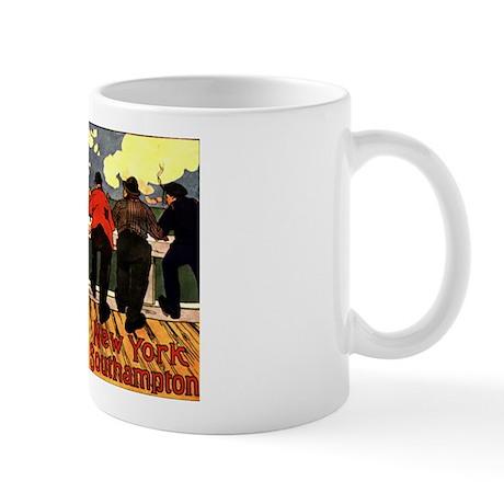 Vintage American Line New Yor Mug