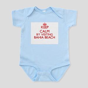 Keep calm by visiting Bahia Beach Florid Body Suit