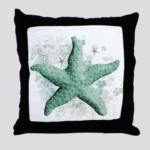 Timeless Starfish Throw Pillow