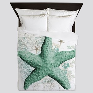 Timeless Starfish Queen Duvet