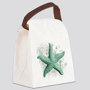 Timeless Starfish Canvas Lunch Bag