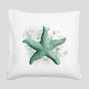 Timeless Starfish Square Canvas Pillow
