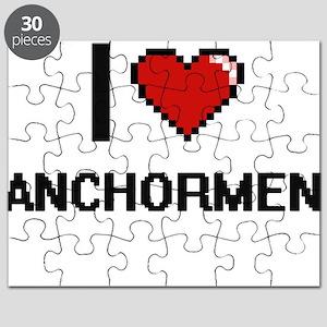 I Love Anchormen Digitial Design Puzzle