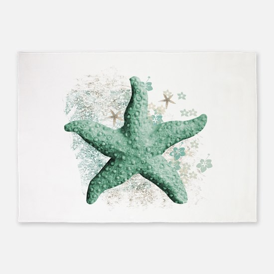 Timeless Starfish 5'x7'Area Rug