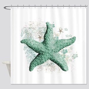 Timeless Starfish Shower Curtain