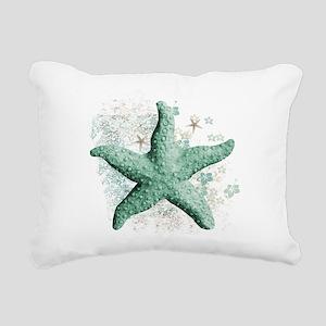 Timeless Starfish Rectangular Canvas Pillow