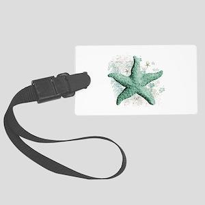 Timeless Starfish Large Luggage Tag