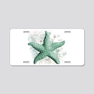 Timeless Starfish Aluminum License Plate