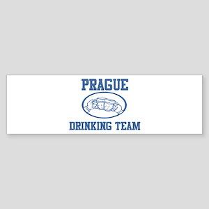 PRAGUE drinking team Bumper Sticker