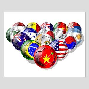 China Soccer Balls Small Poster
