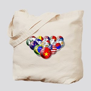 China Soccer Balls Tote Bag