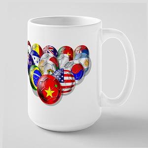 China Soccer Balls Large Mug