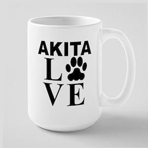 Akita Love Mugs