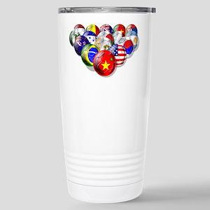 World Soccer Balls Travel Mug