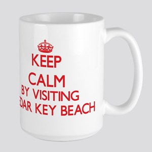 Keep calm by visiting Cedar Key Beach Florida Mugs